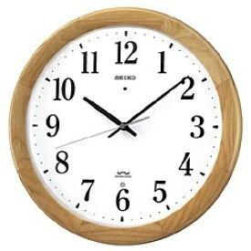 セイコー SEIKO 掛け時計 【スタンダード】 天然色木地 KX311B [電波自動受信機能有][KX311B]