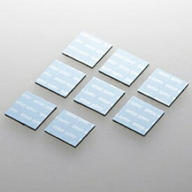 サンワサプライ SANWA SUPPLY ノートパソコン冷却パッド 正方形・8枚入り (ブルー) TK-CLNP8BL[TKCLNP8BL]