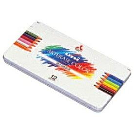 三菱鉛筆 MITSUBISHI PENCIL [色鉛筆] ユニ アーテレーズカラー(消せる色鉛筆) 12色 UAC12C[UAC12C]