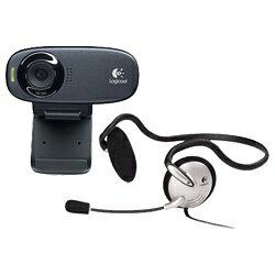 ロジクール WEBカメラ(120万画素・UVC対応) C310h[C310H]