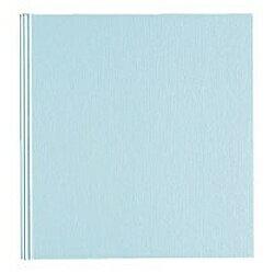 コクヨ メタリックアルバム(デミサイズ・メタリック台紙10枚/ライトブルー) ア-521LB[ア521LB]