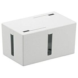 BUFFALO バッファロー ケーブルボックス (Sサイズ・ホワイト) BSTB01SWH[BSTB01SWH]