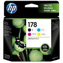 【あす楽対象】 HP 【純正】 HP178(4色) インクカートリッジ CR281AA