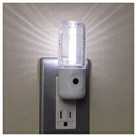 ヤザワ YAZAWA LEDセンサーナイトライト NL30WH ホワイト
