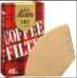 カリタ Kalita コーヒーフィルター 101濾紙 ブラウン 40枚入 11141[ミサラシ101ロシ]