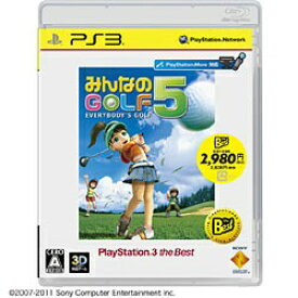 ソニーインタラクティブエンタテインメント Sony Interactive Entertainmen みんなのGOLF 5 PlayStation 3 the Best(再廉価版)【PS3ゲームソフト】