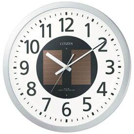 リズム時計 RHYTHM 掛け時計 【エコライフM815】 シルバーメタリック 4MY815-019 [電波自動受信機能有][4MY815019]