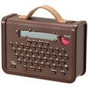 キングジム マスキングテーププリンター 「こはる」 MP10チヤ ブラウン