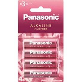 パナソニック Panasonic LR6LJP/4B LR6LJP/4B 単3電池 ピンク [4本 /アルカリ][LR6LJP4B] panasonic