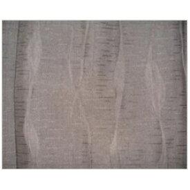 青木 AOKI ドレープカーテン フクレジャガード(100×200cm/ブラウン)