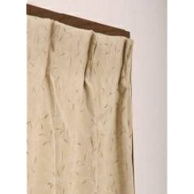 東京シンコール TOKYO SINCOL 2枚組 ドレープカーテン プチリーフ(100×178cm/ベージュ)[902052]
