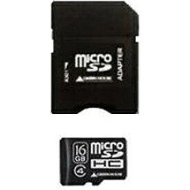 グリーンハウス GREEN HOUSE microSDHCカード GH-SDMRHC*4シリーズ GH-SDMRHC16G4? [16GB /Class4][GHSDMRHC16G4]