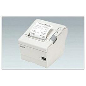 エプソン EPSON 【レシート印刷】サーマルレシートプリンター[USB2.0] クールホワイト TM885UD481 レシートプリンター ホワイト