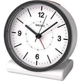 セイコー SEIKO 目覚まし時計 【スタンダード】 白 KR328W [アナログ /電波自動受信機能有][KR328W]