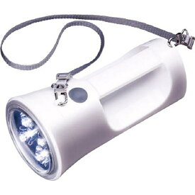東芝 TOSHIBA KFL-1800W 懐中電灯 ホワイト [LED /単1乾電池×4 /防水][KFL1800W]