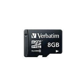 三菱ケミカルメディア MITSUBISHI CHEMICAL MEDIA microSDHCカード Verbatim(バーベイタム) MHCN8GJVZ1 [8GB /Class10][MHCN8GJVZ1]