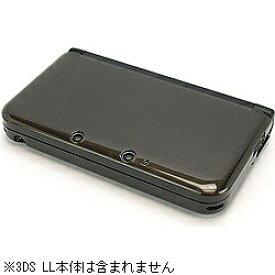 ゲームテック GAMETECH クリスタルシェル3DLL クリアブラック【3DSLL】