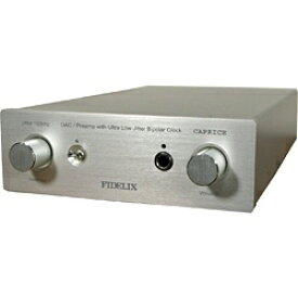 FIDELIX フィデリックス 【ハイレゾ音源対応】プリアンプ(コントロールアンプ) DAC付 CAPRICE-I2S [DAC機能対応 /その他 /ハイレゾ対応][CAPRICEI2S]