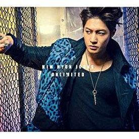 ユニバーサルミュージック キム・ヒョンジュン/UNLIMITED 初回限定盤B 【CD】