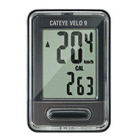 キャットアイ CATEYE サイクルコンピューター Velo 9(ブラック) CC-VL820[CCVL820]
