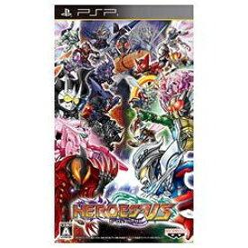 バンダイナムコエンターテインメント BANDAI NAMCO Entertainment HEROES' VS【PSPゲームソフト】[HEROESVS]