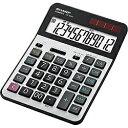 シャープ SHARP 実務電卓(セミデスクトップタイプ・12桁) CS-S952-X[CSS952X]