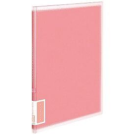 コクヨ KOKUYO クリヤーブック(A4サイズ・固定式/縦10枚ポケット・ピンク) ラ-V10P[ラV10P]