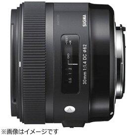 シグマ SIGMA カメラレンズ 30mm F1.4 DC HSM APS-C用 Art ブラック [キヤノンEF /単焦点レンズ][301.4DCHSM]
