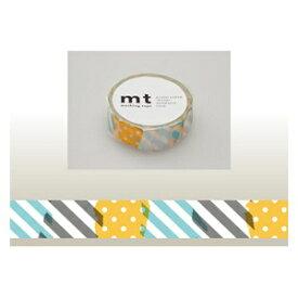カモ井加工紙 KAMOI mt マスキングテープ(つぎはぎ・H) MT01D172