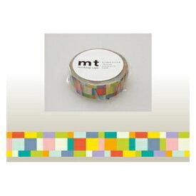 カモ井加工紙 KAMOI mt マスキングテープ(モザイク・ブライト) MT01D176
