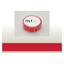 カモ井加工紙 KAMOI mt マスキングテープ(レッド) MT01P181