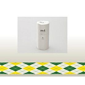 カモ井加工紙 KAMOI mt マスキングテープ・8コセット(アーガイル・グリーン) MT08D163