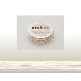 カモ井加工紙 KAMOI mt ex マスキングテープ(色えんぴつ・ボーダー) MTEX1P78