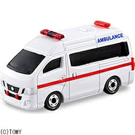 タカラトミー TAKARA TOMY トミカ No.18 日産 NV350 キャラバン 救急車(サック箱)
