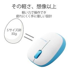 エレコム ELECOM M-BL20DBBU マウス ブルー [BlueLED /3ボタン /USB /無線(ワイヤレス)][MBL20DBBU]
