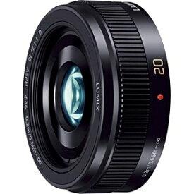 パナソニック Panasonic カメラレンズ LUMIX G 20mm/F1.7 II ASPH. LUMIX(ルミックス) ブラック H-H020A-K [マイクロフォーサーズ /単焦点レンズ][HH020A] panasonic