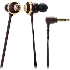 オーディオテクニカ audio-technica イヤホン カナル型 ATH-CKF77 BW ブラウン [φ3.5mm ミニプラグ][ATHCKF77BW]