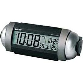セイコー SEIKO 目覚まし時計 【RAIDEN(ライデン)】 銀色メタリック NR530S [デジタル /電波自動受信機能有]