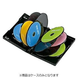 サンワサプライ SANWA SUPPLY DVD/CD対応トールケース 10枚収納 ブラック DVD-TW10-01BK[DVDTW1001BK]