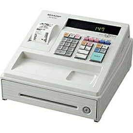 シャープ SHARP 電子レジスター XE-A147W(ホワイト)[XEA147W]