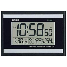 カシオ CASIO 掛け時計 【wave ceptor(ウェーブセプター)】 ブラック IDL100J1JF [電波自動受信機能有][IDL100J1JF]