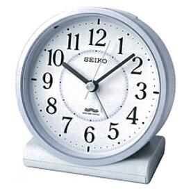 セイコー SEIKO 目覚まし時計 【スタンダード】 薄青パール KR328L [アナログ /電波自動受信機能有]