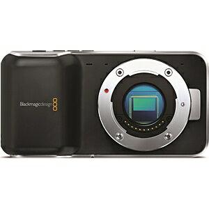 【送料無料】 ブラックマジックデザイン Pocket Cinema Camera ポケットシネマカメラ(マイクロフォーサーズモデル)【ポケットサイズのデジタルフィルムカメラ】