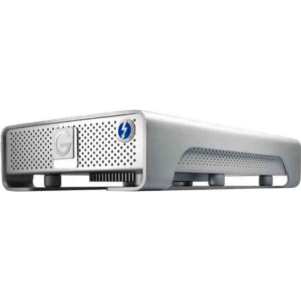 【送料無料】 HGST 【Mac向け】外付ハードディスク [Thunderbolt/USB3.0・4TB] G-DRIVE Thunderbolt USB 3.0 4000GB Silver JP 0G03053