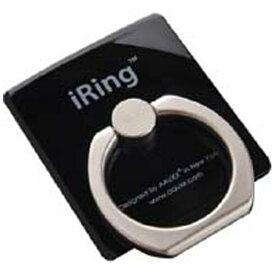 UNIQ ユニーク 〔スマホリング〕 iRing アイリング (ブラック) UMS-OT01BL[UMSIR01BL]
