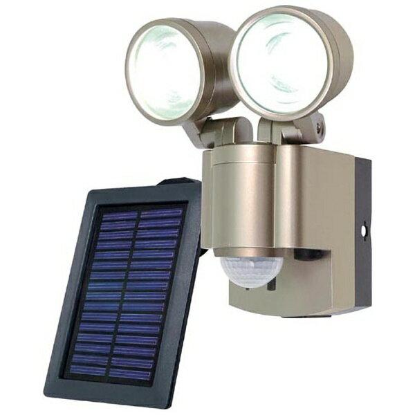 【送料無料】 ELPA(エルパ) 【屋外用】ソーラー式LEDセンサーライト ESL-302SL[ESL302SL]