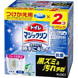 花王 Kao トイレマジックリン 流すだけで勝手にキレイ ライトブーケの香り つけかえ用 80g×2個入 〔トイレ用洗剤〕