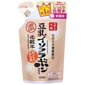 常盤薬品 TOKIWA Pharmaceutical SANA(サナ)なめらか本舗 豆乳イソフラボン含有のしっとり化粧水(180ml) つめかえ用[化粧水]【wtcool】