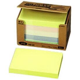 ニチバン NICHIBAN ポイントメモ[再生紙シリーズ]ビジネスパック(100枚×5冊入/混色) MB-3K[MB3K]