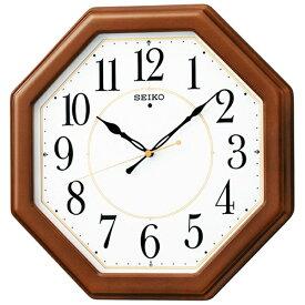 セイコー SEIKO 掛け時計 【スタンダード】 茶木地 KX389B [電波自動受信機能有][KX389B]